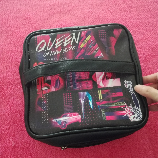 Maybelline makeup pouch