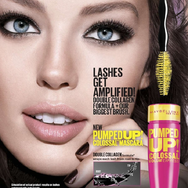24d5e992c08 Maybelline Volume Express Pumped Up Colossal Waterproof Mascara, Health &  Beauty, Makeup on Carousell