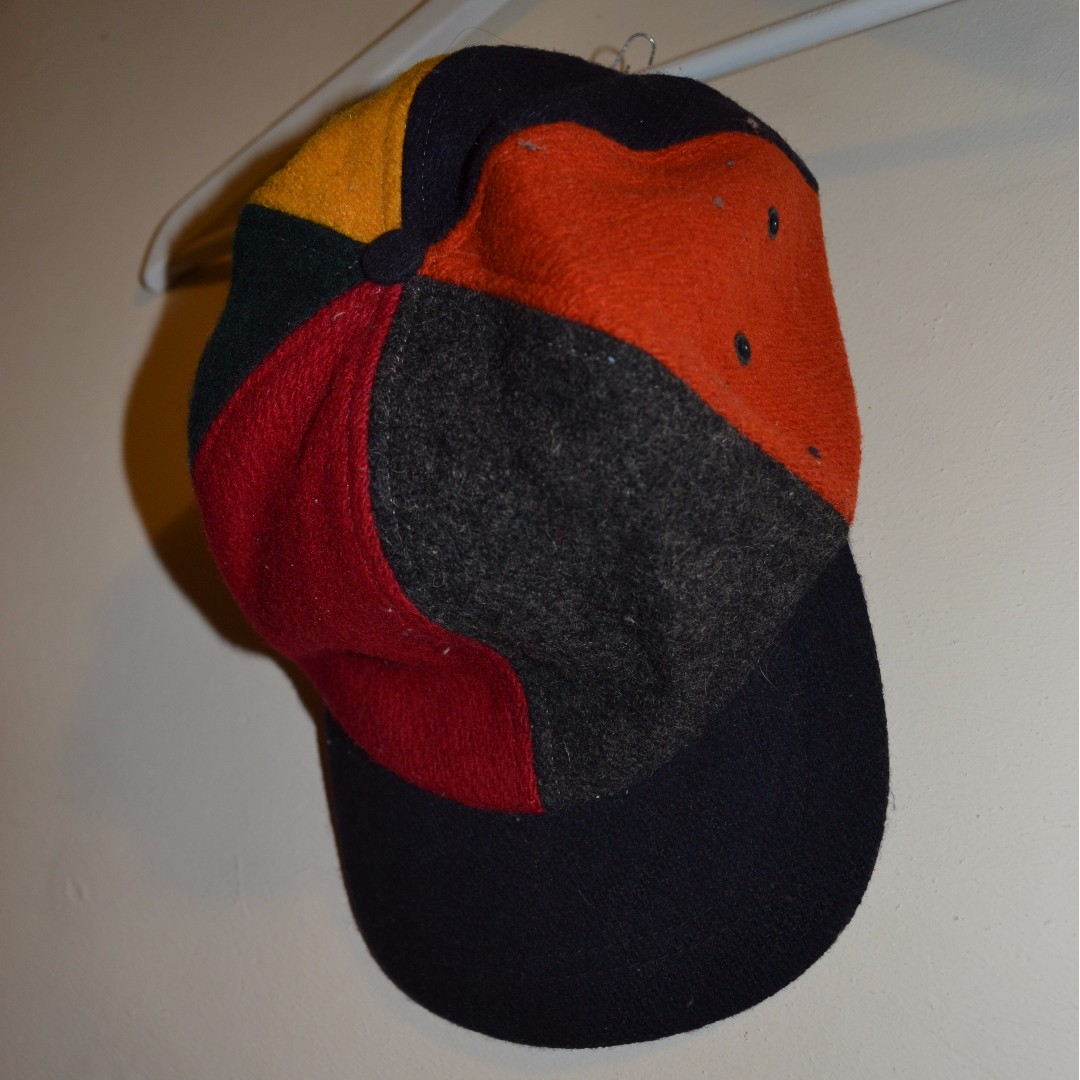 Mens J.Crew Wool Made In USA Cap Size M