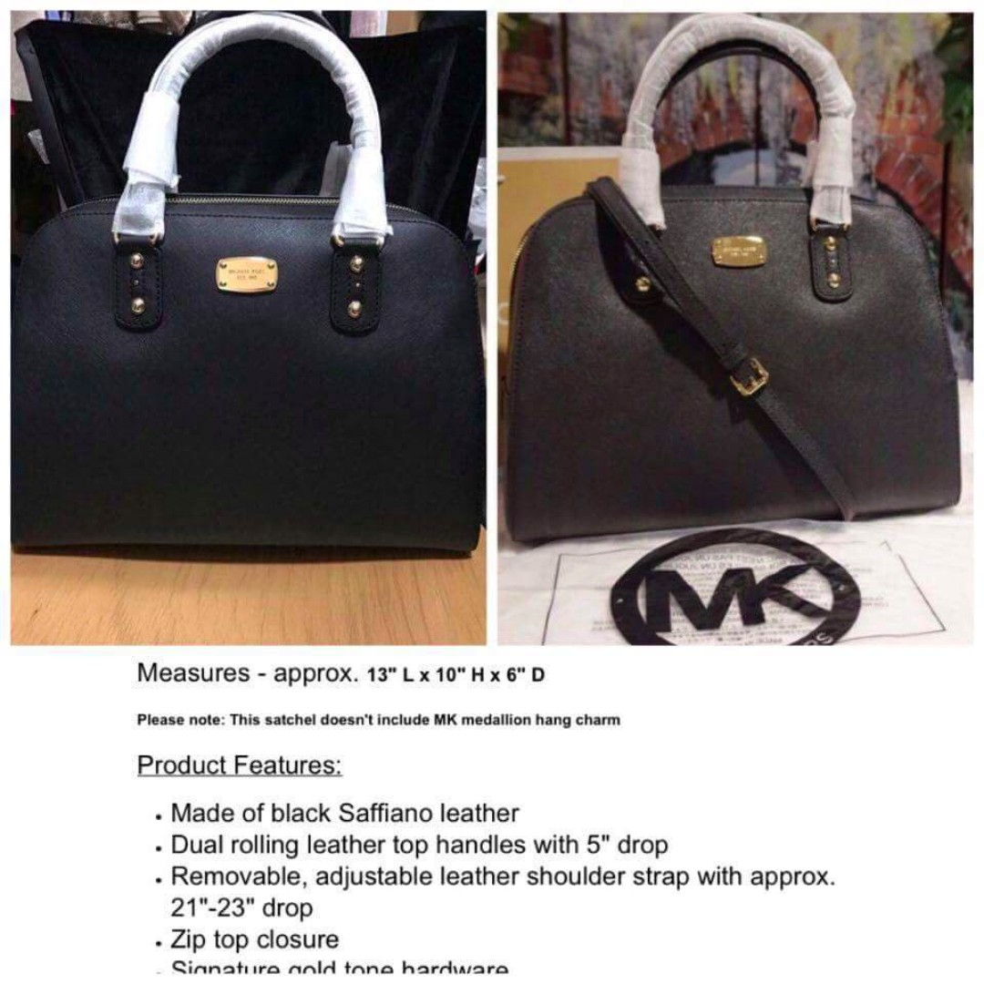 Michael Kors MK Satchel Bag