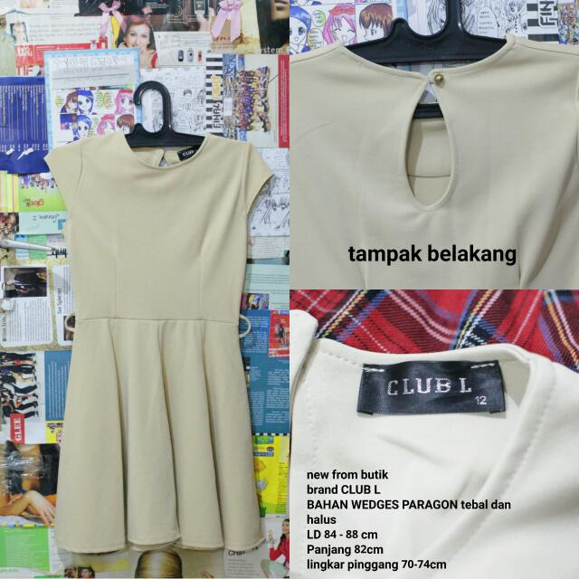 Minidress Beige Import