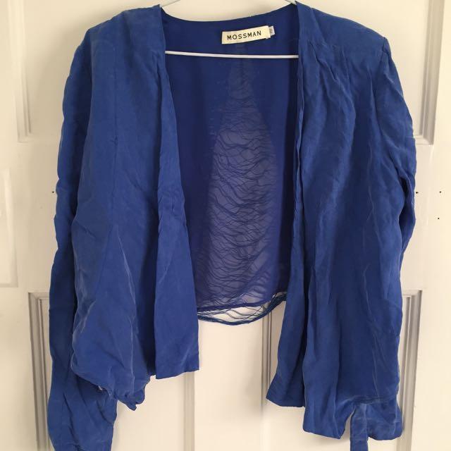 Mossman Blue Jacket