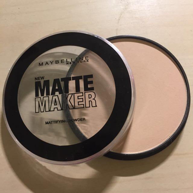 New Matte Maker Powder
