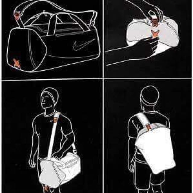 Nike Alpha Adapt Crossbody Duffel Bag, Sports, Athletic & Sports Clothing  on Carousell