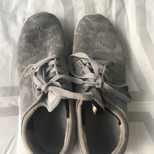 Nike grey sneakers size 7