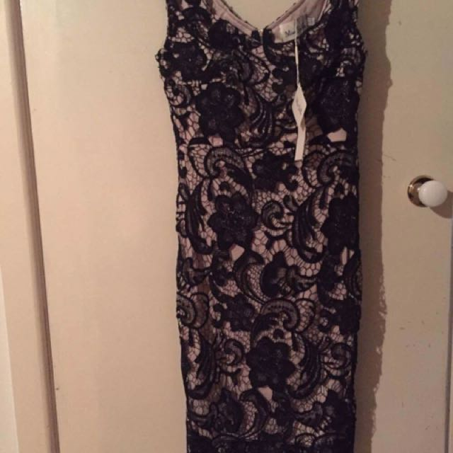 NWT Black Lace Dress