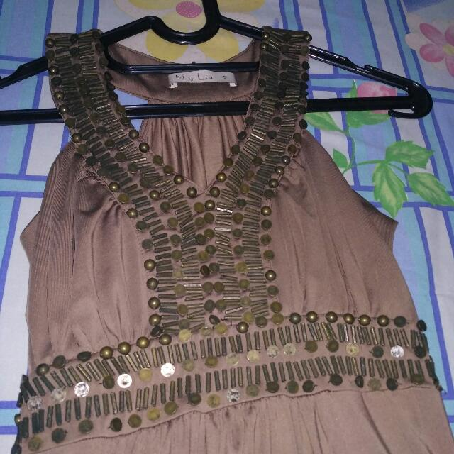 Nyla Long Dress