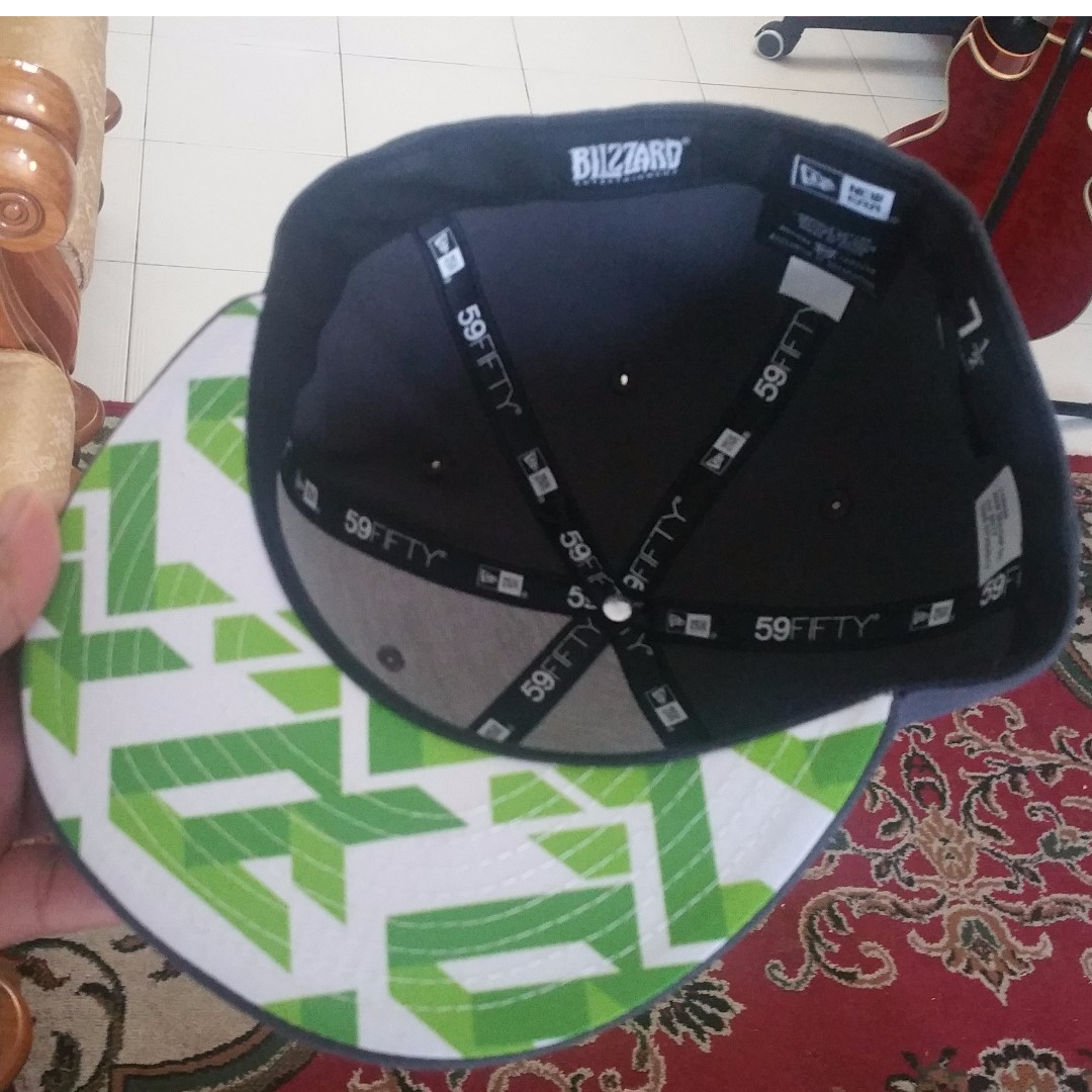 e283638dd86 OFFICIAL Overwatch Genji Hat by New Era Size 7 5 8