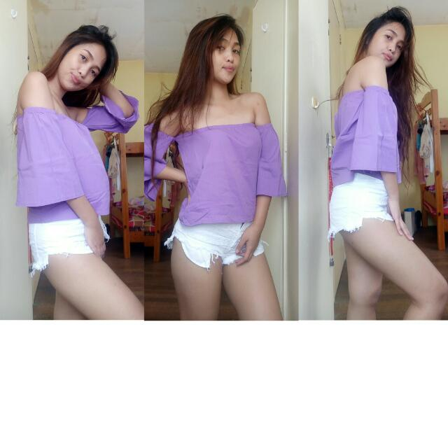 Offshoulder(purple)