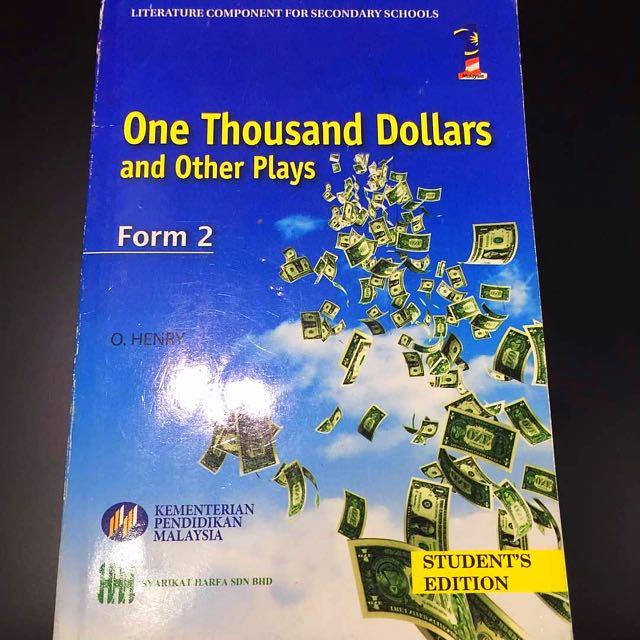 one thousand dollars o henry
