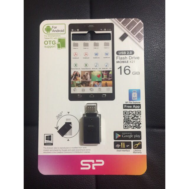 OTG FLASH DRIVE USB for cp and tablet