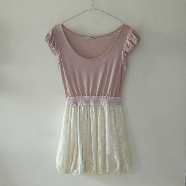 INCLUDE ONGKIR JAKARTA - Party Dress Pink