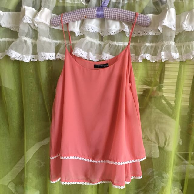 Pink Sleeveless Top ( cinderella)