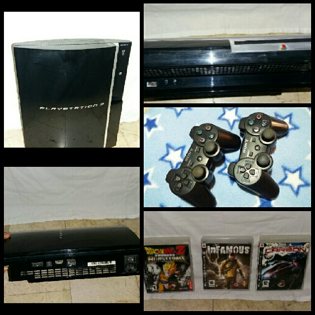 *REPRICED* Playstation 3 (+3 Free Games & 2 Dualshock3 Controller)