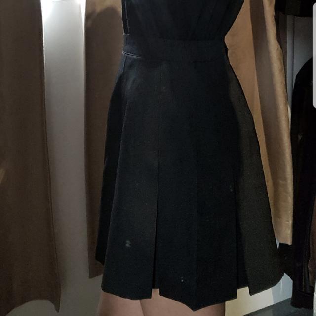 🌿Black Tennis Skirt