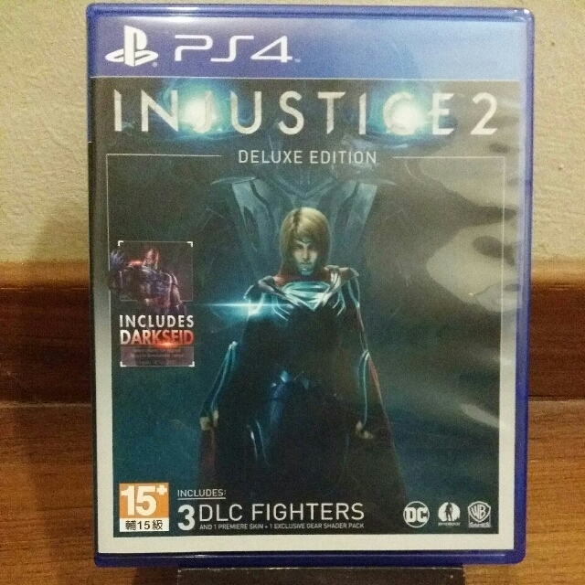 PS4 Injustice 2 w/ Darkseid DLC