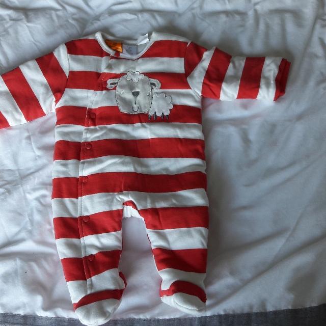Pumpkin Patch 0 - 3 months baby winter onesie