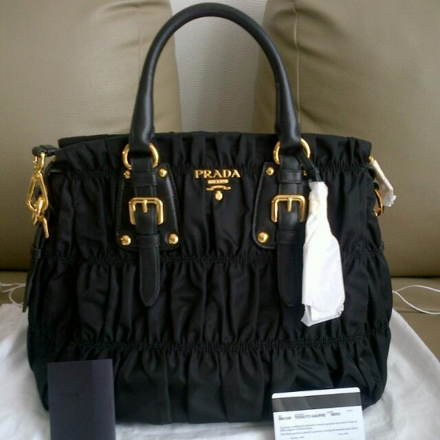 ... wholesale ready stock authentic prada tessuto gaufre tote luxury bags  wallets on carousell b1c7b 7fd6a 8aa2a3aa83c39