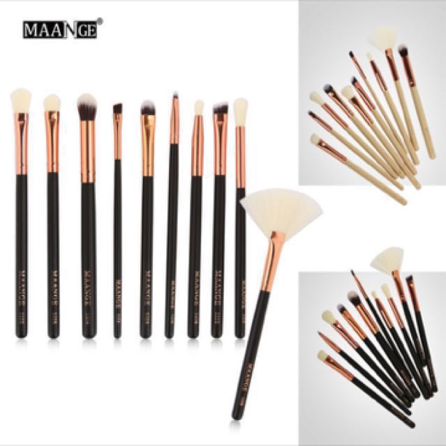 Rose gold Make-up brush Set (10 pcs)