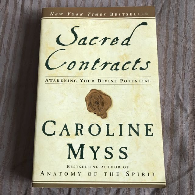 Sacred Contracts by Caroline Myss, Books & Stationery, Fiction on ...