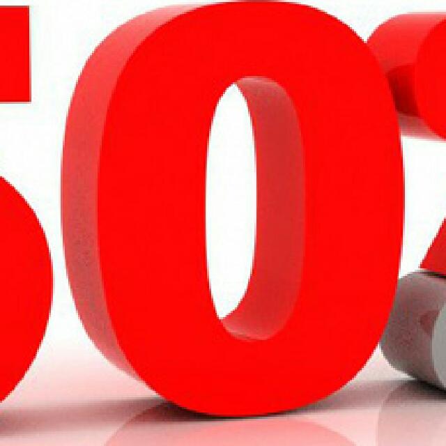 saLe 50%..!!!