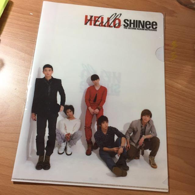 SHINee A4資料夾