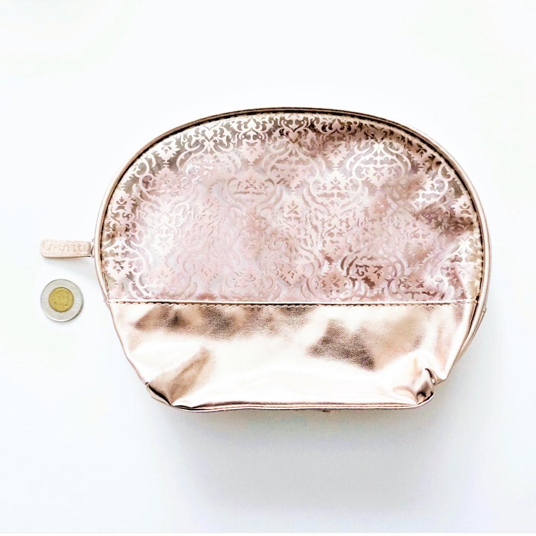 Shiseido - Rose Gold Makeup / Toiletry Bag (Waterproof)