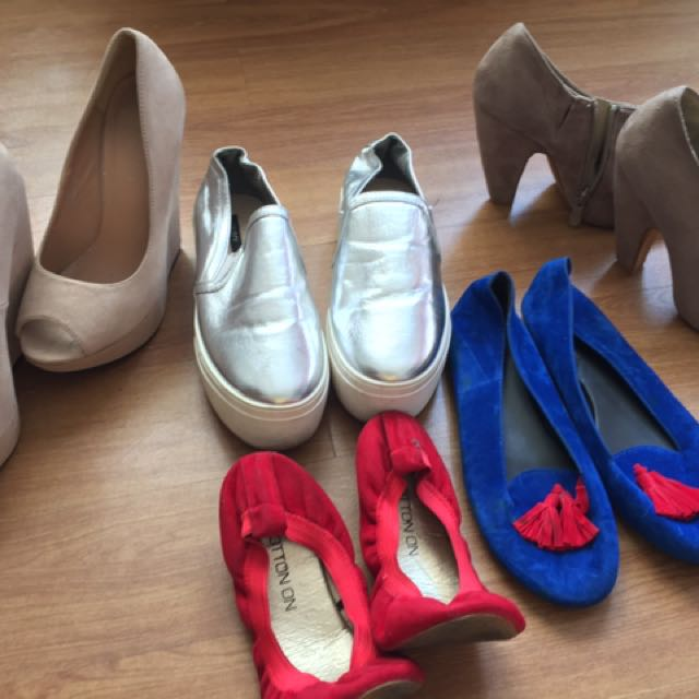 Shoes and dress (my own pre loved clothes) mostly branded