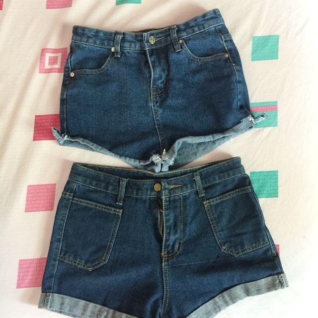 Short jeans (2 pcs)