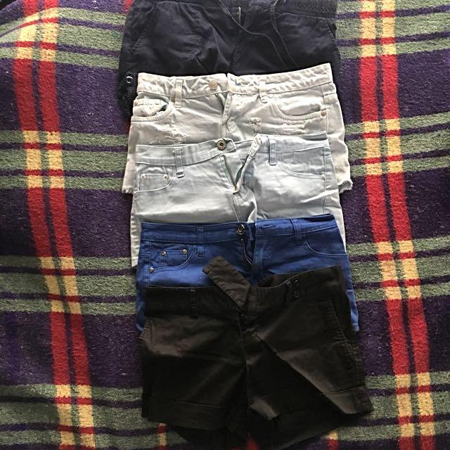Shorts x 4