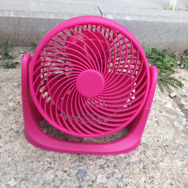 Small, Pink Box Fan