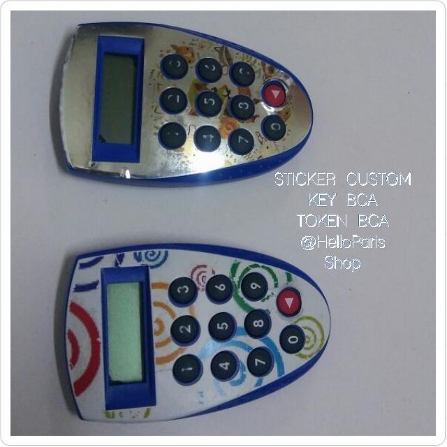 Sticker Waterproof Key BCA, HSBC, RABOBANK