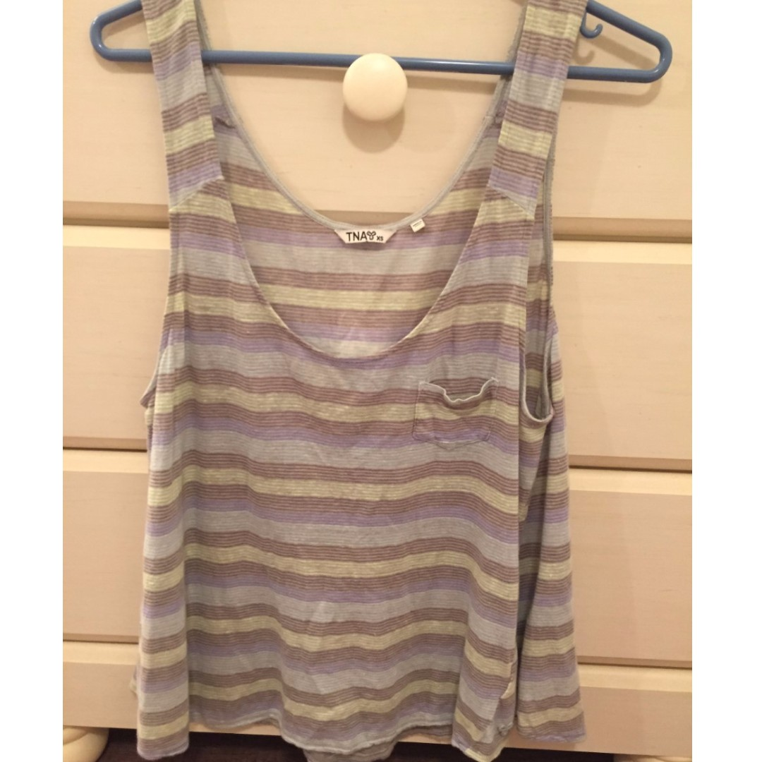 Stripped tank top (size small) from ARTIZIA USED ONCE