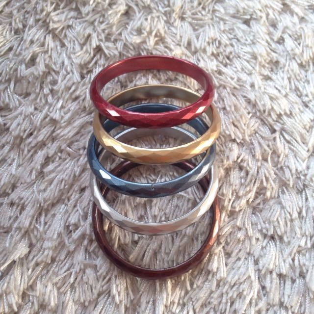 Thick Colorful Bangles