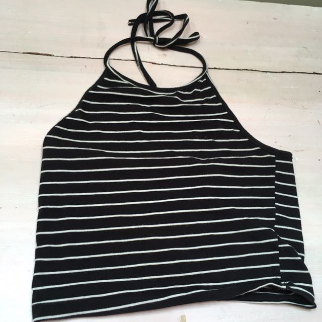 Tie up halter from Brandy melville