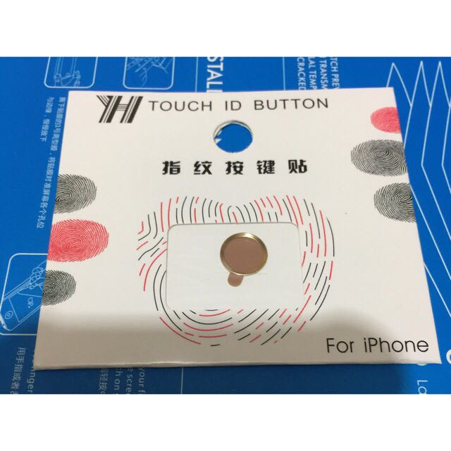 TOUCH ID BUTTON for IPHONES