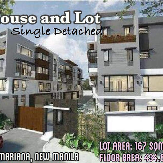 Townhouse in New Manila