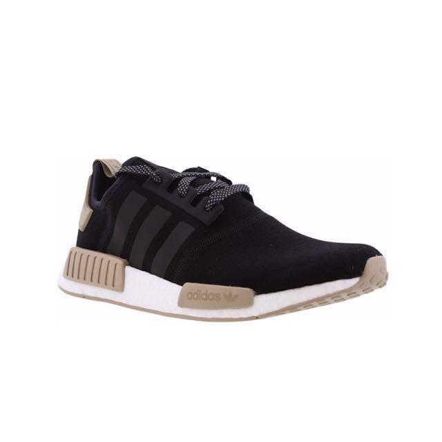99f0bd539  UK EXCLUSIVE  Adidas NMD R1 Black Brown Cardboard