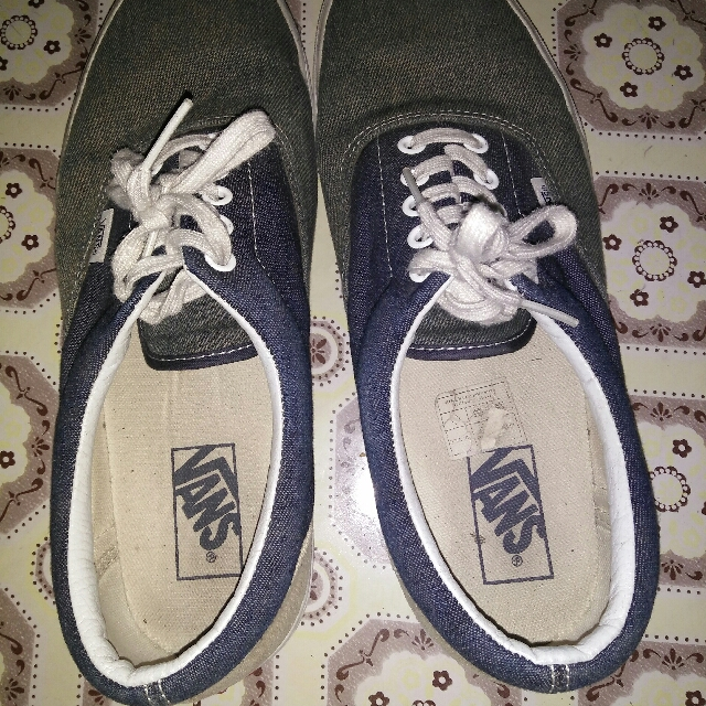 vans off the wall (denim cloth)