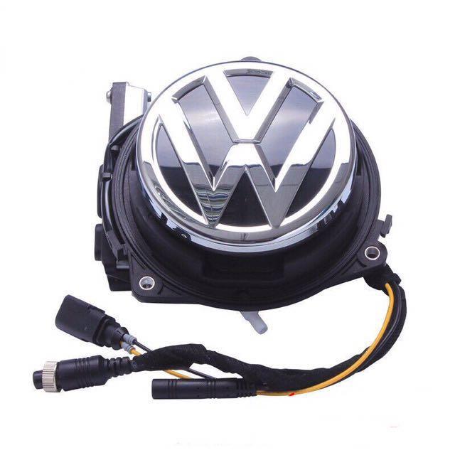 Volkswagen Vw Retrofit Autofold Emblem Reverse Cam, Car