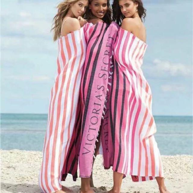 VS Victoria's secret 維多利亞的秘密沙灘巾155*130