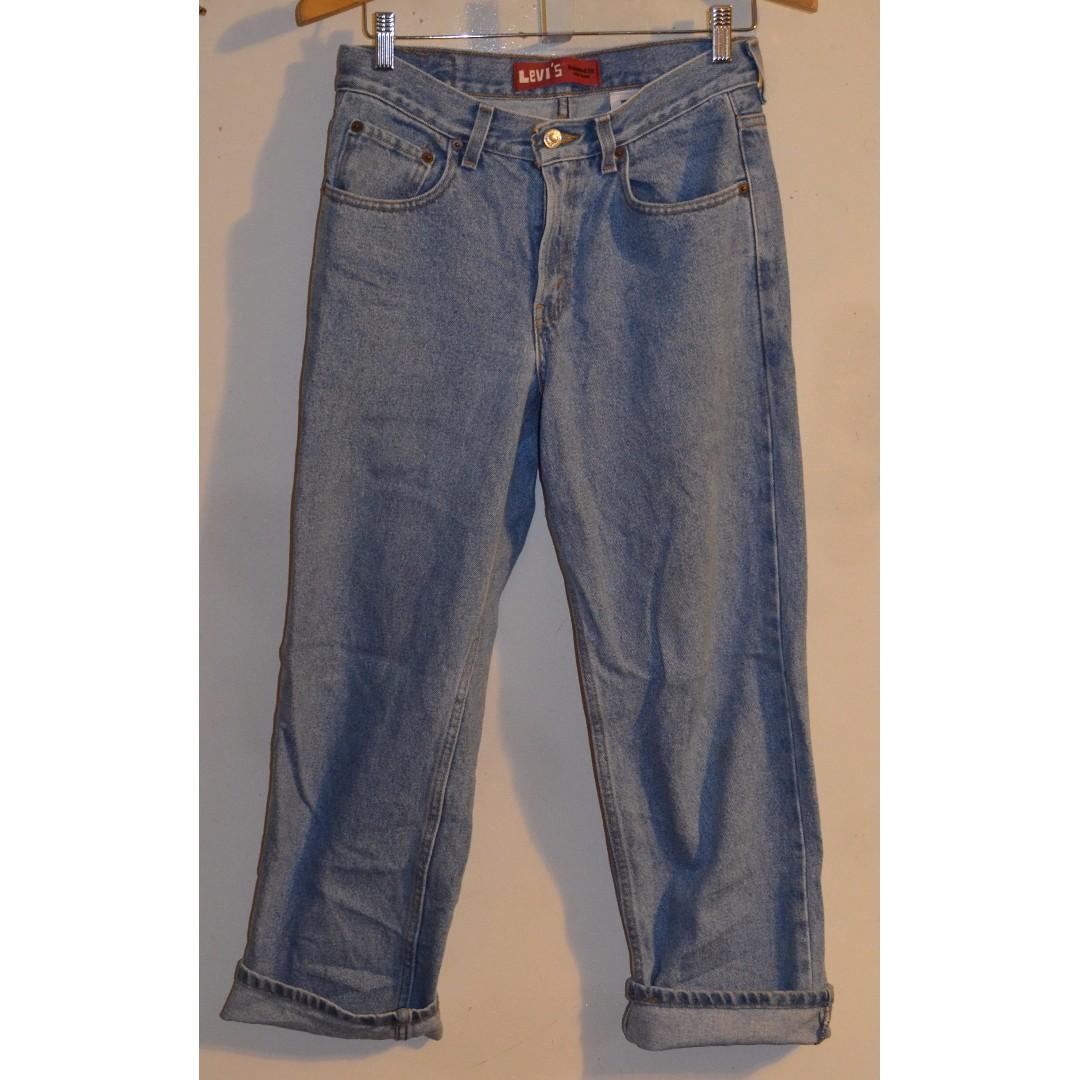 VTG Womens Levis 550 Denim Jeans Size 28W