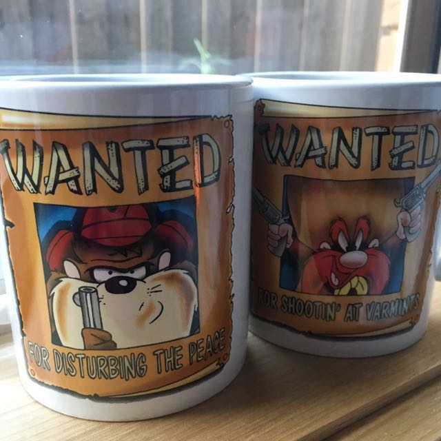WB Movie World Collection Mugs