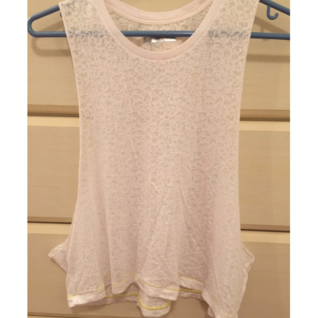 White tank top (size small) from FOREVER 21 USED ONCE