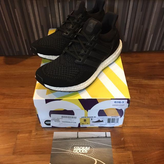 a61dd2a24 WTS BNDS Adidas Ultra Boost 1.0  Core Black  Mens UK7.5   US8