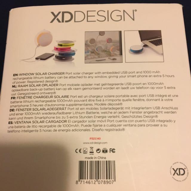 XD DESIGN 太陽能尿袋