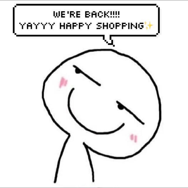 YASHHHHH WE'RE BACK!!!