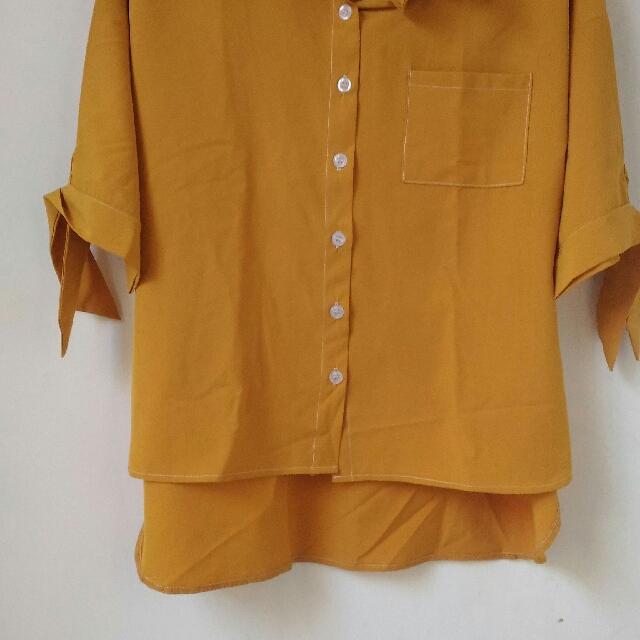 Yuan Yellow Blouse