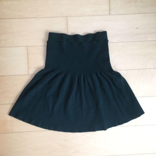 Zara Dark Green Skirt