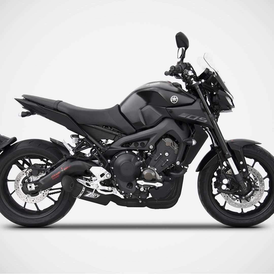 zard exhaust systems singapore yamaha mt 09 2014 2018. Black Bedroom Furniture Sets. Home Design Ideas